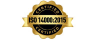 Logo ISO 14000:2015